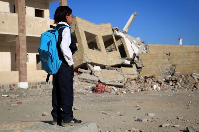Près de 2000 écoles au Yémen ne peuvent... (photo Ahmad AL-BASHA, archives AFP)