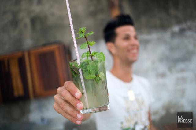 Le mojito est le cocktail national de Cuba. Nous avons demandé aux membres de... (PHOTO MARTIN CHAMBERLAND, LA PRESSE)