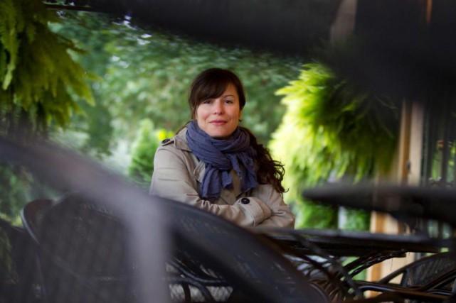 Dominique Fortier a reçu l'automne dernier le Prix... (PhotoIvanoh Demers, Archives La presse)