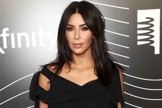 Kim Kardashian... (Archives AP)