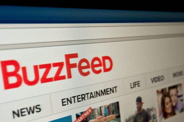 Créé en 2006, BuzzFeed est devenu un acteur... (PHOTO AFP)