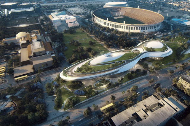 Le Lucas Museum of Narrative Art sera construit... (PHOTO AFP)