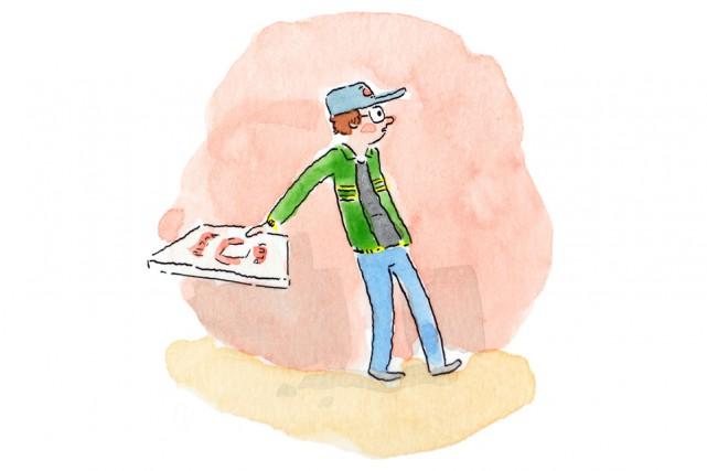 Chaque mois pendant un an,Tout garnisuivra les aventures... (Illustration Pascal Girard, fournie par La Pastèque)