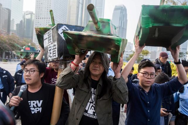 Les opposants au Musée du palais affirment que... (PHOTO AFP)