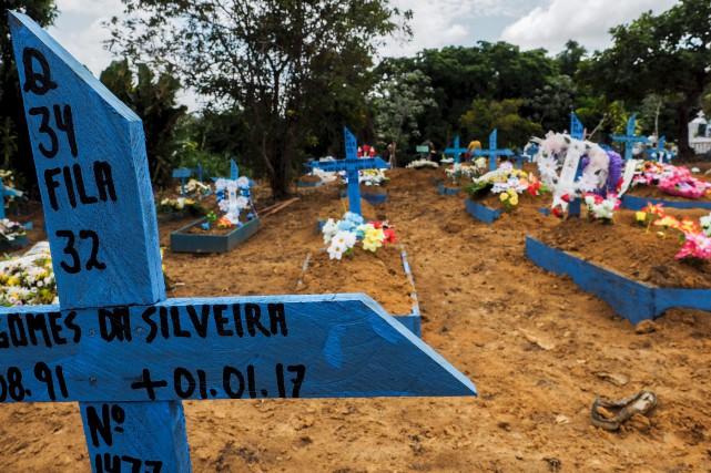 Plusieurs prisonniers brutalement massacrés dans la nuit du... (AFP, Raphael Alves)