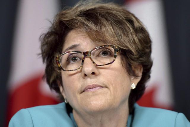 La sous-ministre de Services publics et Approvisionnement, Marie... (La Presse canadienne)