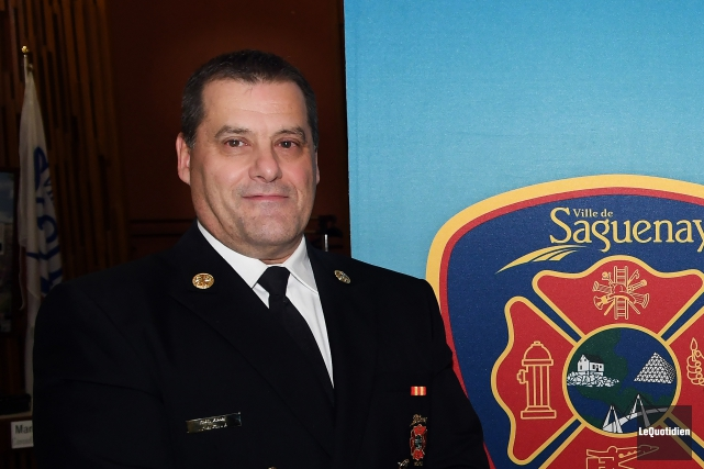 Le directeur du service des incendies de Saguenay,Carol... (Archives Le Quotidien, Rocket Lavoie)