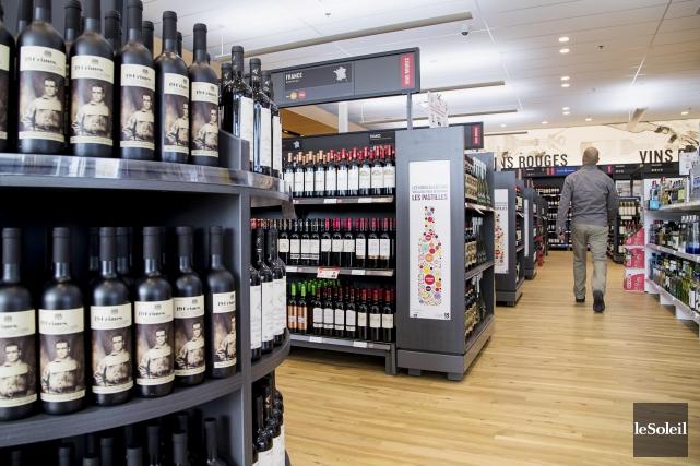 Le nombre de vins à moins de 15... (Photothèque Le Soleil)