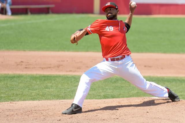 Le lanceur gaucher de la République dominicaine Porfirio... (Andréanne Lemire, Le Nouvelliste)