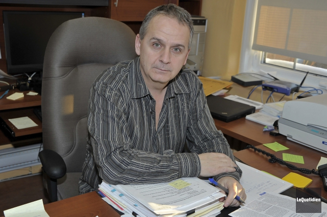 Le congédiement de l'ancien vice-président du Syndicat des... (Archives Le Quotidien, Gimmy Desbiens)