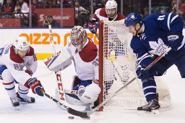 Selon le gardien Carey Price, le défenseur Shea... (La Presse canadienne, Nathan Denette)