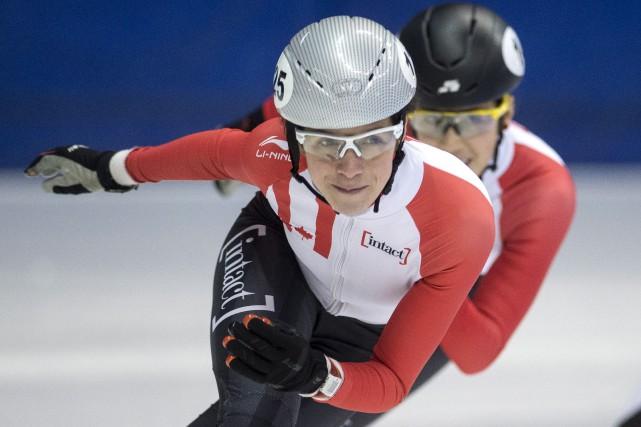 Marie-Ève Droleta réitéré sa volonté de se qualifier... (La Presse canadienne, Paul Chiasson)