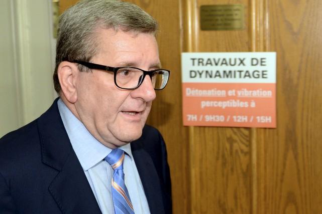 Le maire Régis Labeaume... (Photothèque Le Soleil, Erick Labbé)