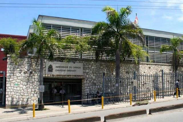 L'ambassade du Canada en Haïti est située à... (Facebook)