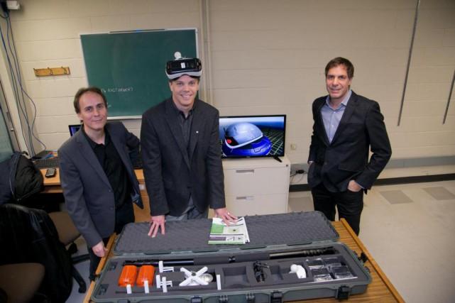 Aperçu du Laboratoire virtuel de recherche et développement... (Photo fournie par l'Université de Sherbrooke)