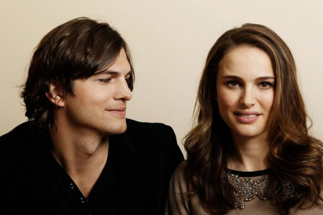 Ashton Kutcher et Natalie Portman, vedettes du film... (Photo Matt Sayles, archives Associated Press)