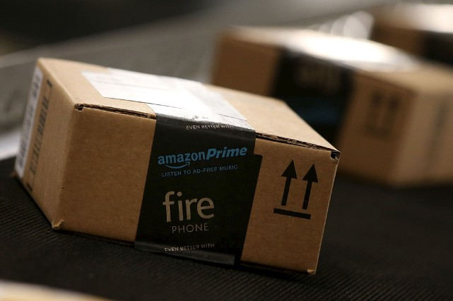 Le détaillant électronique Amazon a annoncé jeudi avoir l'intention de créer... (AFP, Justin Sullivan)
