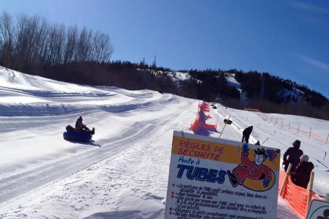 Le centre de ski du mont Ti-Basse est... (Facebook)