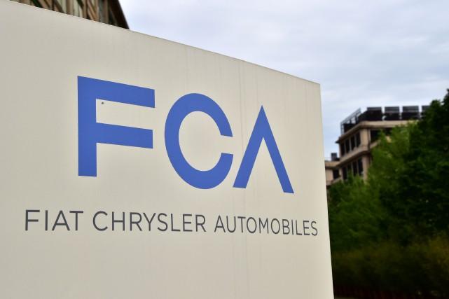 Le titre de Fiat Chrysler Automobiles a perdu... (Photo Giuseppe Cacace, Agence France-Presse)