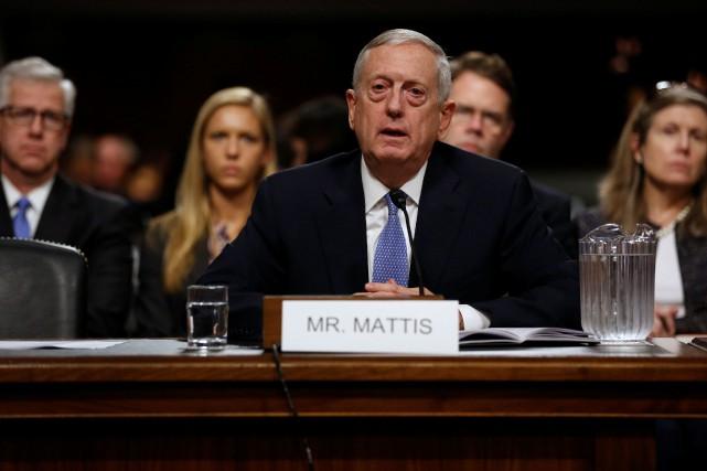 L'ancien militaire James Mattisdit soutenir la volonté de... (Photo Jonathan Ernst, REUTERS)