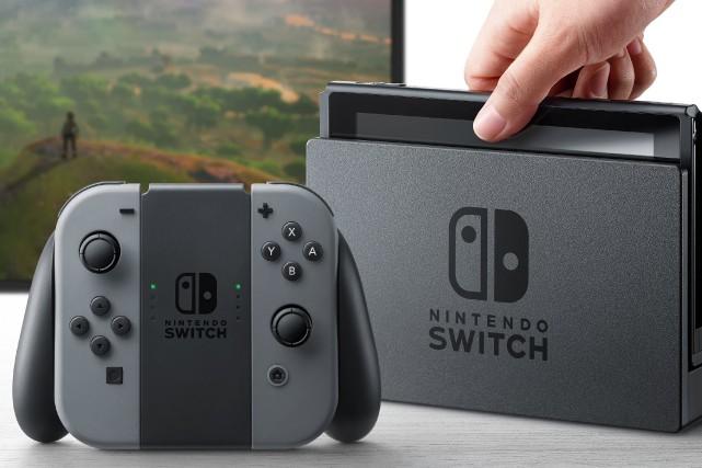 La Nintendo Switchsera commercialisée courant 2017.... (Photo Nintendo)