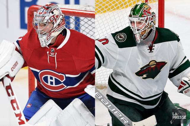 Carey Price et Devan Dubnyk, deux des meilleurs... (Photos Bernard Brault et Robert Skinner, La Presse)