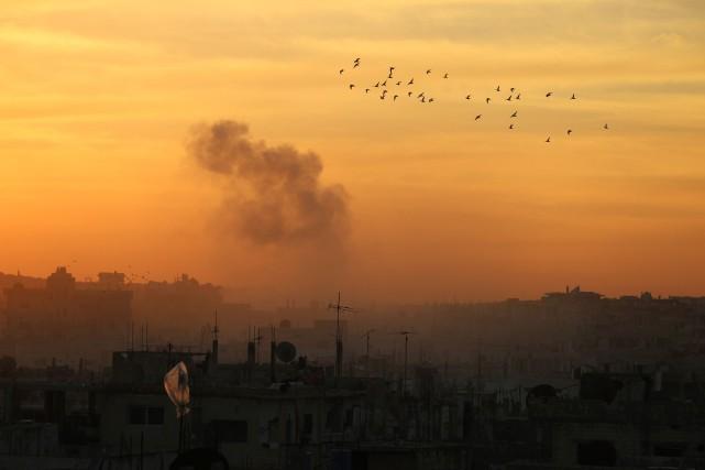 La Russie et la Turquie ont signé un accord spécifiant les mécanismes pour... (PHOTO MOHAMAD ABAZEED, AFP)