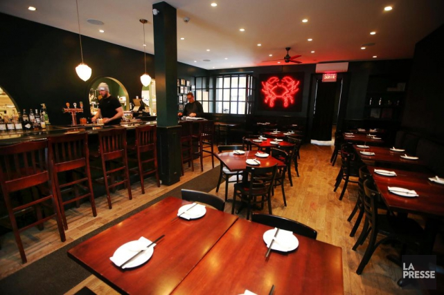 Il y a trois ans, j'ai écrit au sujet du restaurant Orange Rouge, dans le... (PHOTO MARTIN CHAMBERLAND, LA PRESSE)