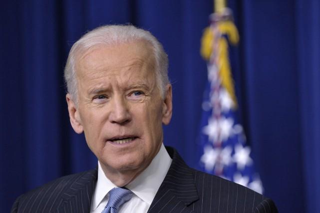 Le vice-président américain Joe Biden... (PHOTO MANDEL NGAN, ARCHIVES AFP)
