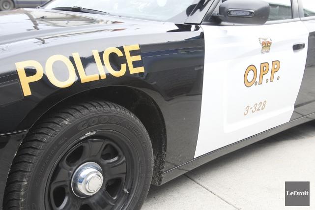 La Police provinciale de l'Ontario (PPO) recherche un Québécois de 24ans... (Photo Patrick Woodbury, archives LeDroit)