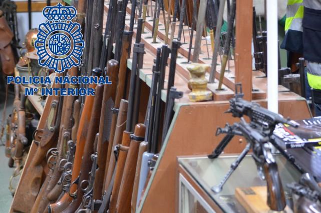 Dans quelques images diffusées par la police nationale,... (PHOTO AFP/MINISTÈRE DE L'INTÉRIEUR DE L'ESPAGNE)