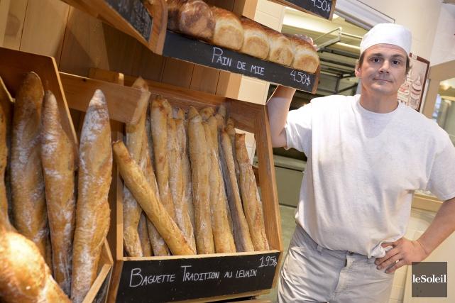 Pascal Chazal, propriétaire dePascal Le Boulanger... (Le Soleil, Yan Doublet)