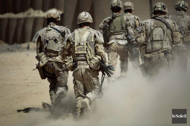 Selon le ministère de la Défense, 3200 soldats... (Photothèque Le Soleil)