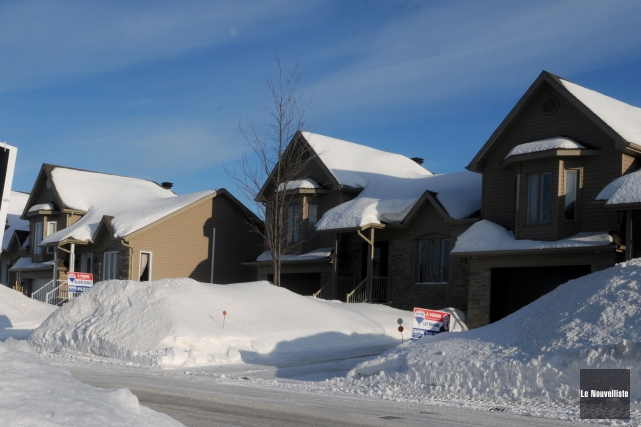 Le marché de l'immobilier à Trois-Rivières a pris... (François Gervais, Le Nouvelliste)