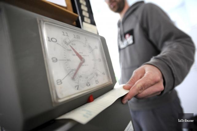 Le taux de chômage a diminué de 1,2point de pourcentage pour s'établir à5,8%... (Imacom, Maxime Picard)