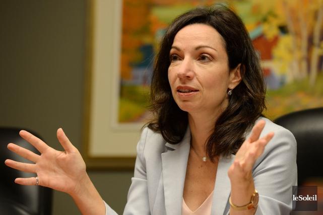 La députée péquiste Martine Ouellet a indiqué qu'elle... (Photothèque Le Soleil, Erick Labbé)