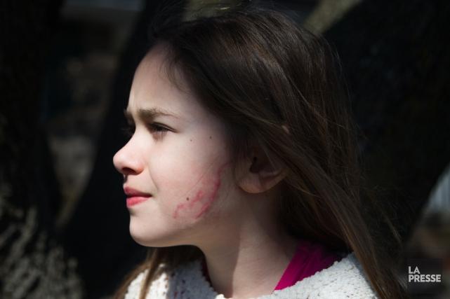La jeune Vanessa avait été blessée en 2015... (archives La Presse)