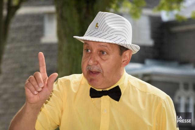 Le maire de Louiseville, Yvon Deshaies.... (François Gervais)