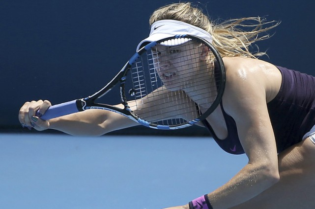 Eugenie Bouchard... (PHOTO AP)