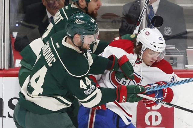 Relisez le clavardage du match entre le Canadien et le Wild du Minnesota avec... (AP)