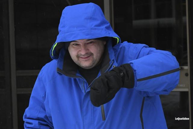 Martin Gagnon-Bouchard tremblait en attendant la décision du... (Photo Le Quotidien, Rocket Lavoie)