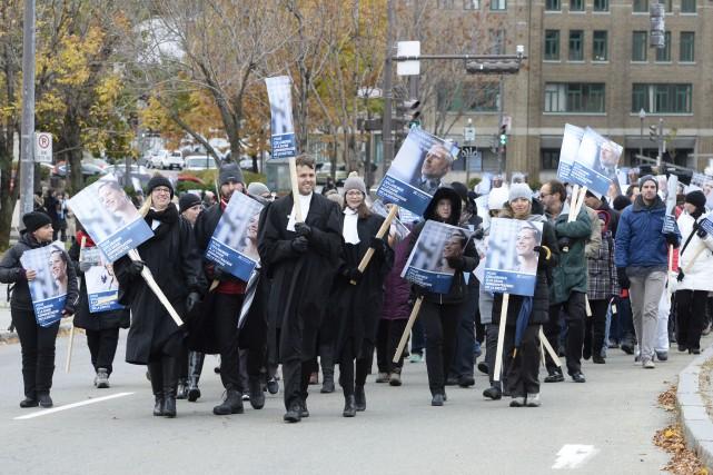 Les avocats et les notaires de la fonction... (Photothèque Le Soleil, Jean-Marie Villeneuve)