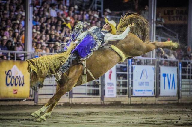 Nomad Fest Rodeo Urbain. Festival Western de St... (PHOTO FOURNIE PAR LE FESTIVAL WESTERN DE ST-TITE)