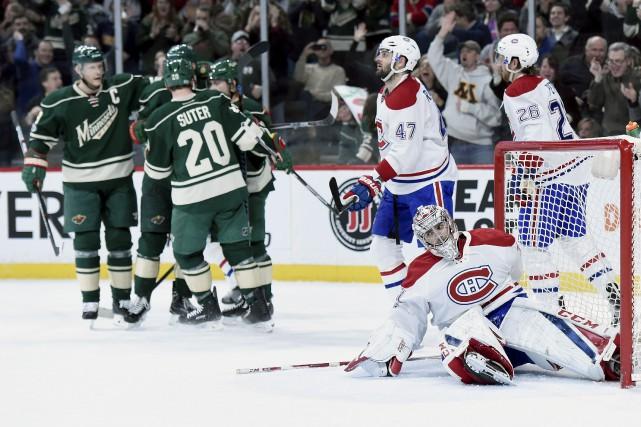 Le Canadien a essuyé un revers humiliant de... (AFP)