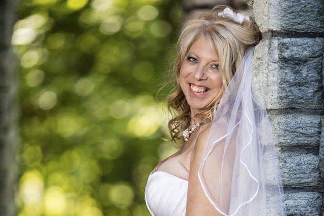 Lyne Benjamin a toujours adoré les mariages.... (Fournie par Lyne Benjamin)