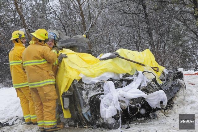 La Sûreté du Québec a dévoilé l'identité de... (Photo Le Quotidien, Gimmy Desbiens)