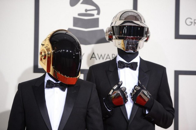 Le duo français Daft Punk... (Photo ROBYN BECK, Archives Agence France-Presse)