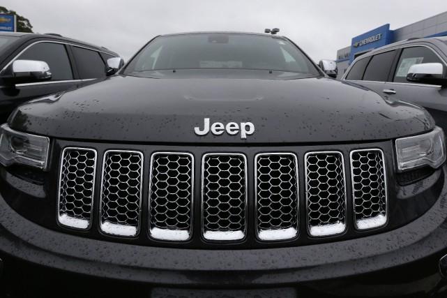 Jeudi, le gouvernement américain a accusé Fiat Chrysler... (photo : AP)