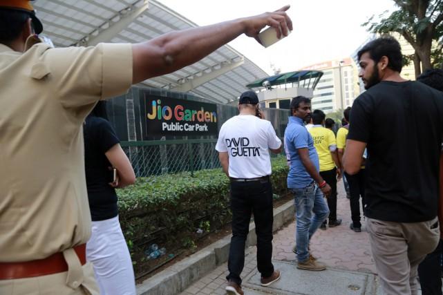 Le concert de David Guetta prévu vendredi à Bombay a été annulé, pour la... (PHOTO AP)