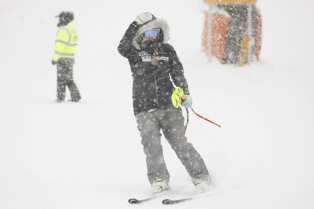 La neige et le brouillard ont forcé l'annulation... (Photo Dominic Ebenbichler, REUTERS)